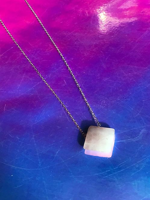 Love stone Rose Quartz Necklace