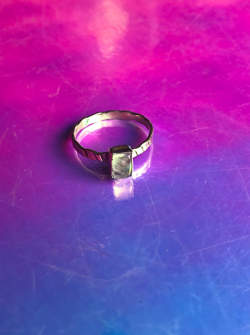 Baby Moonstone Ring