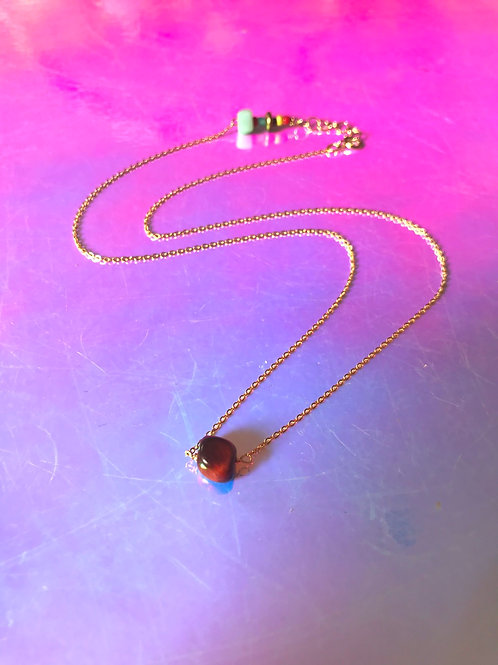 Tigers Eye Stone Necklace