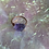 Thumbnail: Small Copper Amethyst Rock Ring