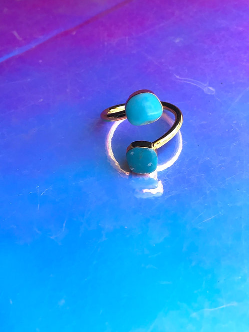 Egypt Gold Turquoise Ring