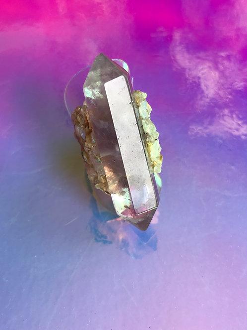 Amethyst Opal Ring