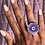 Thumbnail:  Purple Flower Agate Ring