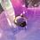 Thumbnail: Raw Small Dark Purple Amethyst Ring