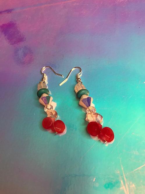 Cocktail Gemstone Earrings