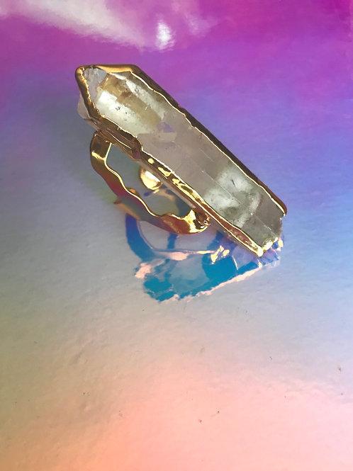 Fascinated Quartz Ring