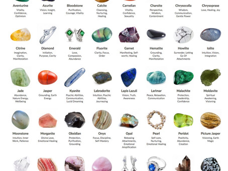 Beautiful Healing Stones
