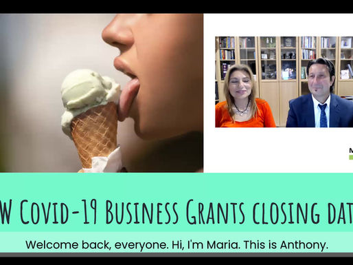 NSW COVID-19 Business Grants - Closing dates