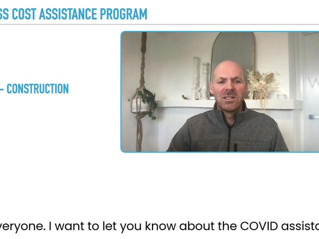 Construction Covid Relief Grant