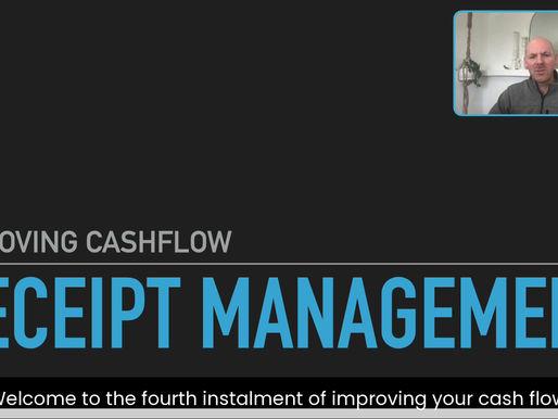 Improving cash flow with Receipt Management