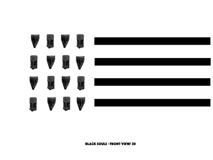"""Black Souls"" (January 17 - February 26, 2022)"