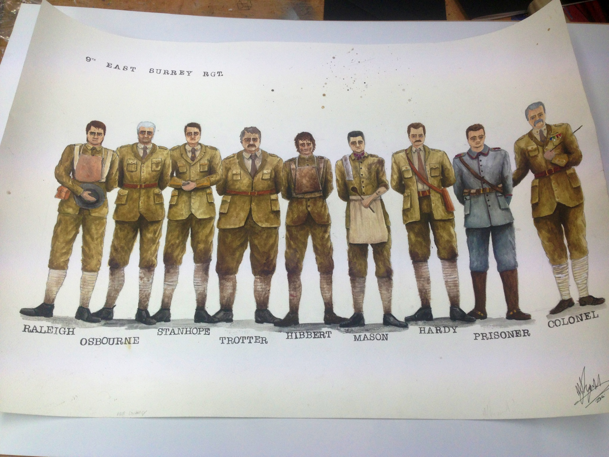 Journey's End Costume Designs