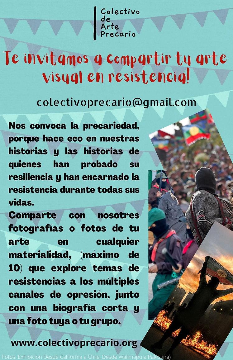 Add a little bit of body tSomos el Colectivo de Arte Precario, tenemos un centro cultural