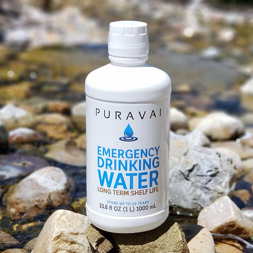 12-Pack Puravai Emergency Drinking Water (Includes Shipping!)