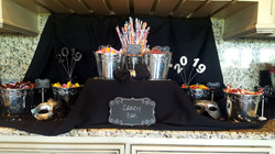 Candy Bar set-up