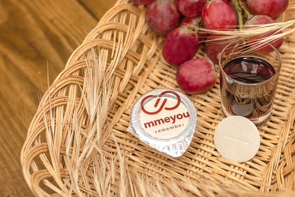 Mmeyou Packaged Communion Bread and wine