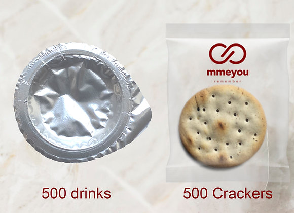 Mmeyou Separate Pack (500 Bread and Drink)