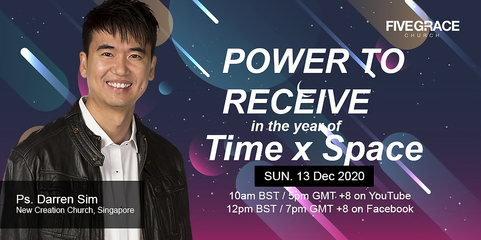 Power To Receive With Ps Darren Sim.