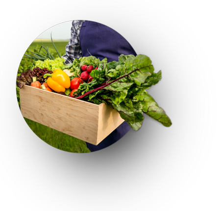 Farmer-holding-vegetables-circle-frame-r
