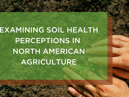 Examining Soil Health Perceptions in North American Agriculture