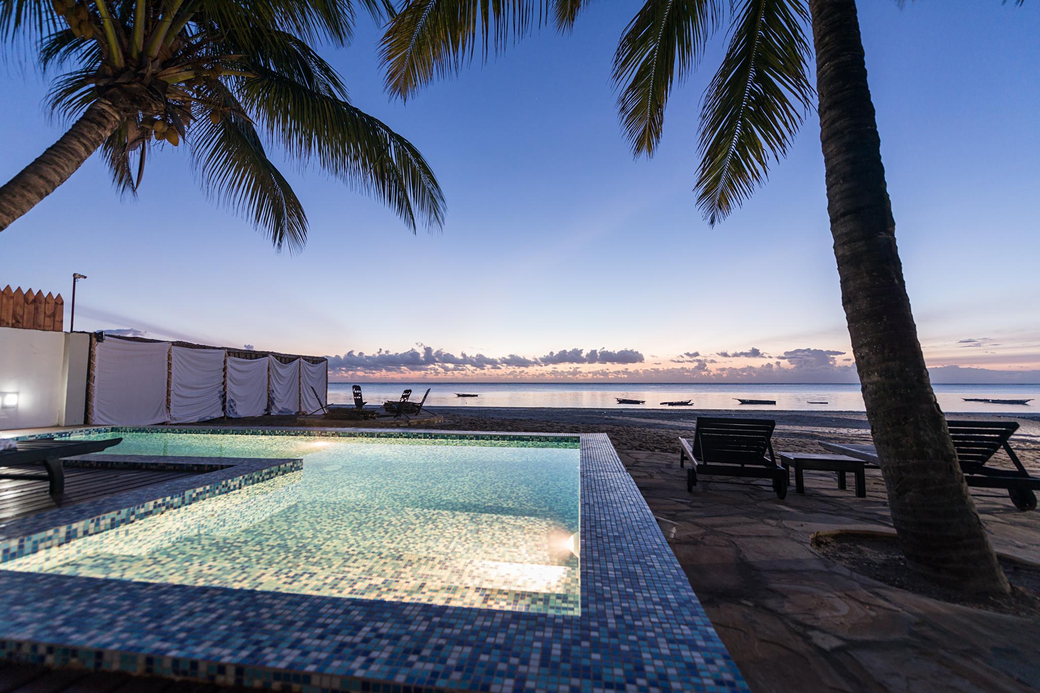 private pool luxury resort
