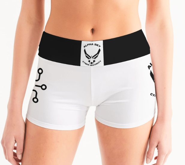 Alpha Sky Yoga Shorts