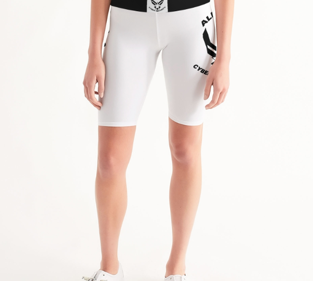 Alpha Sky Biker Shorts- Women's