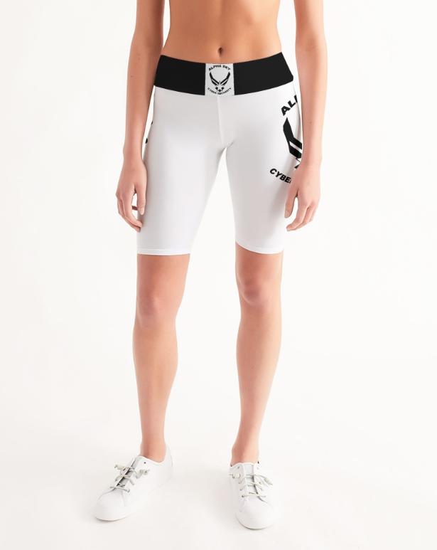 Alpha Sky Biker Shorts- Women's