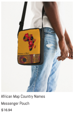 African Names Messenger Pouch.png