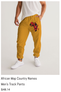 African Names Men's Track Pants