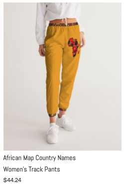 African Names Women's Track Pants