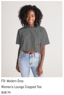 F9 Grey Women's Lounge Cropped Tee.png