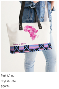Pink Africa Stylish Tote