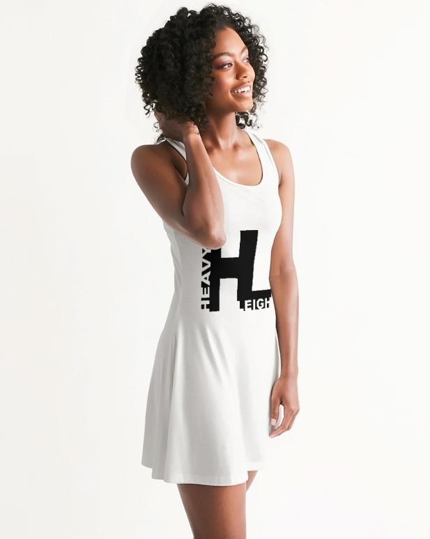 Heavyn Leigh Racer Back Dress White