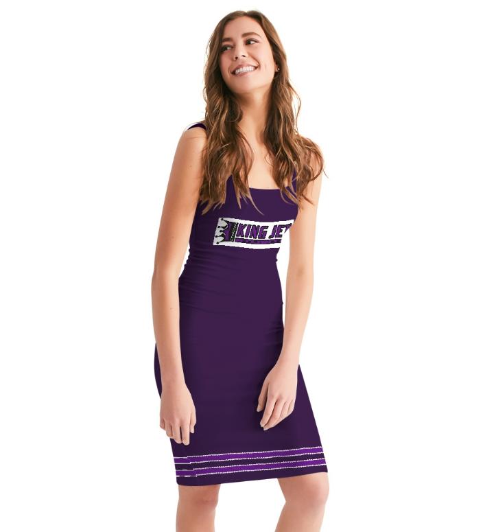 King Jet Body Contour Dress