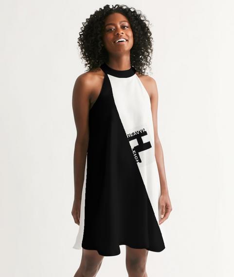 Heavyn Halter Dress