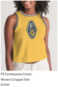 F9 Canary Women's Cropped Tank