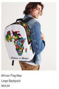 African Flag Map Large Backpack.png