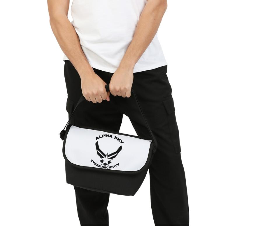 Alpha Sky Small Messenger Bag