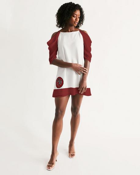 AM Open Shoulder Dress