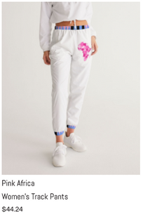 Pink Africa Track Pants