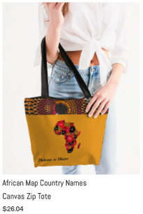 African Names Canvas Zip Tote.png
