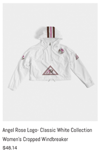 Angel Rose Cropped Windbreaker White.png