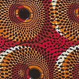 Blood Orange African Print