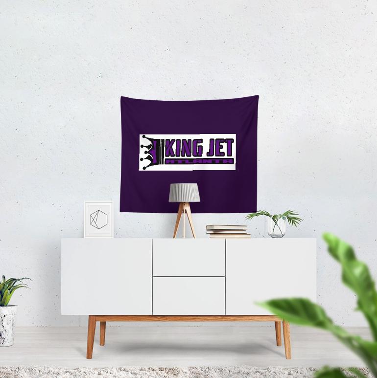 King Jet Tapestry