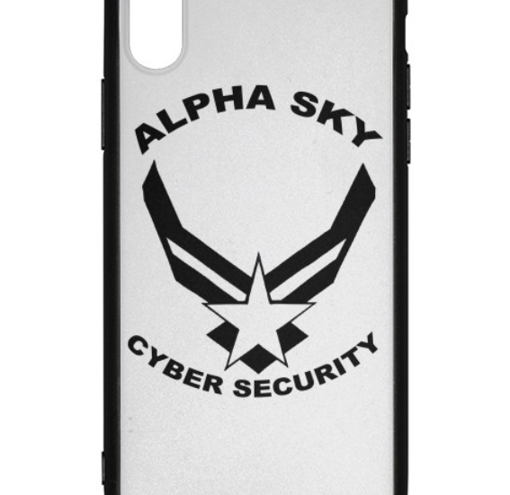 Alpha Sky iPhone X Case