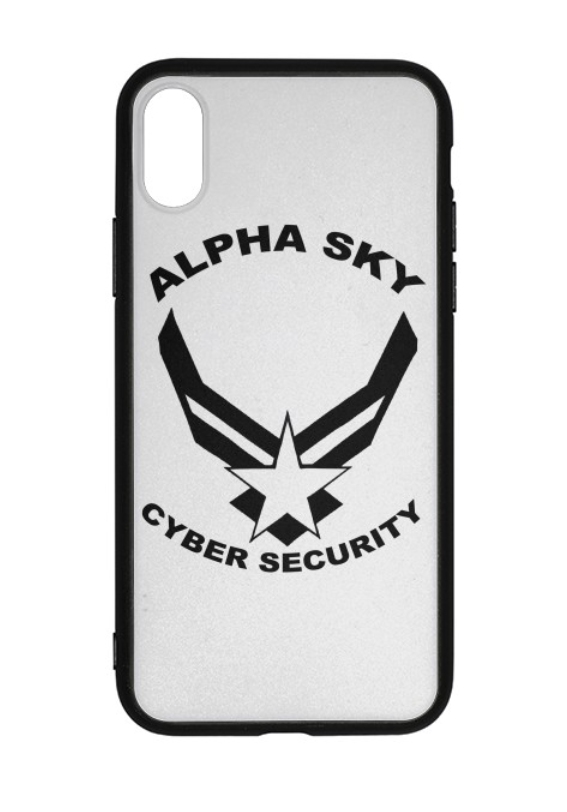 Alpha Sky iPhone X Case
