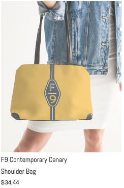F9 Canary Shoulder Bag