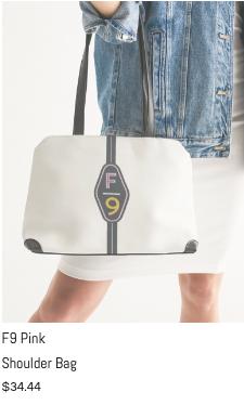 F9 Pink Shoulder Bag