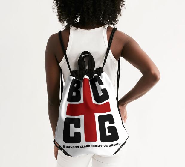 BCCG Canvas Drawstring Bag